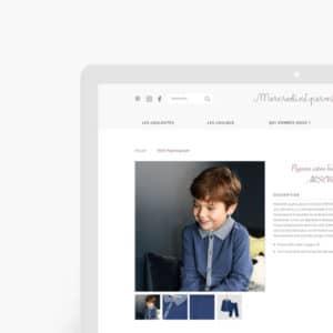 écran d'ordinateur avec la page d'accueil du site Mercredicepermis
