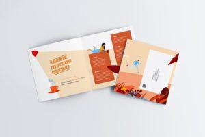 Brochure avec illustration (interieur brochure)
