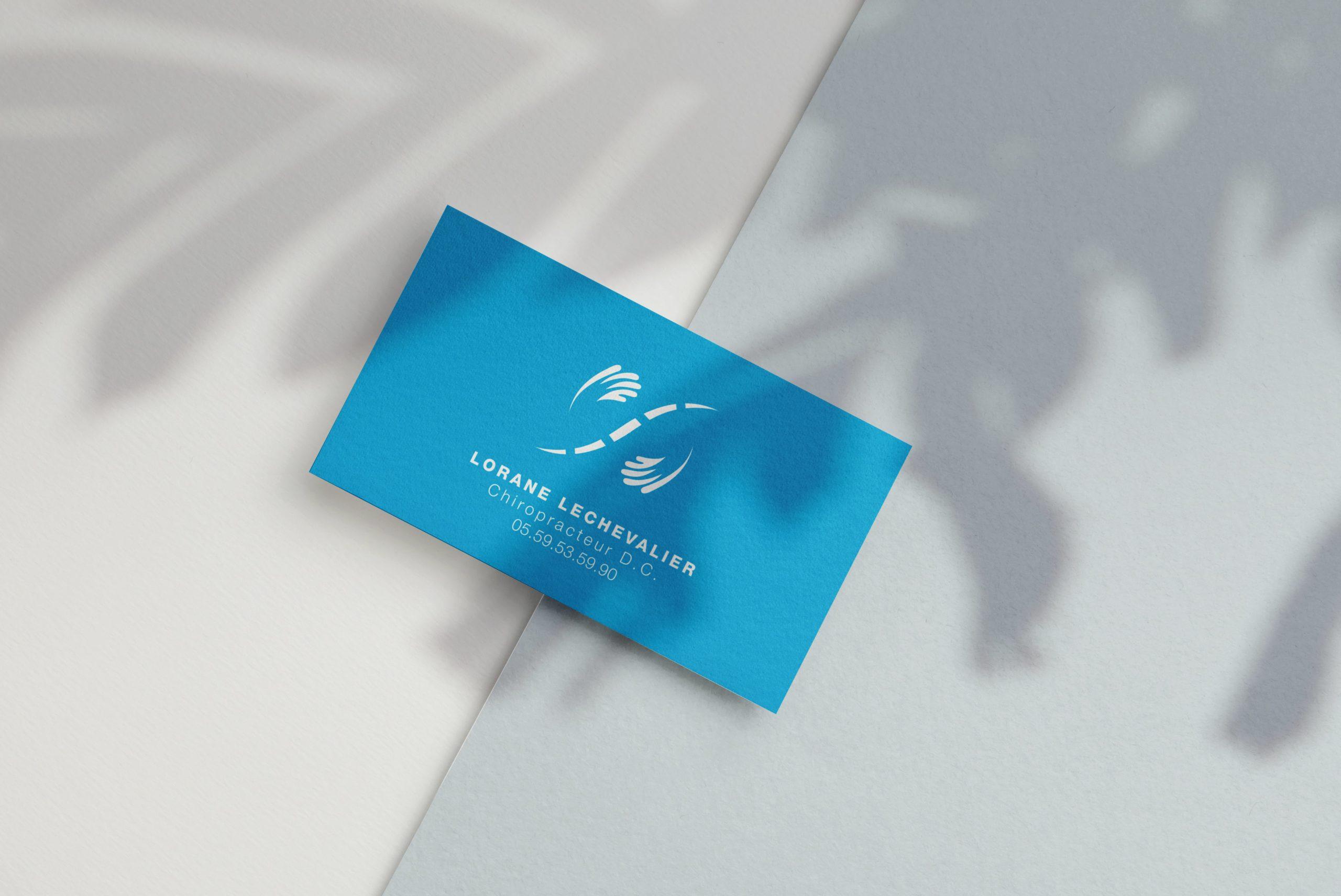 Carte-visite-logo-chiropracteur-pau