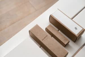 Packaging de la marque Kurafuchi en kraft