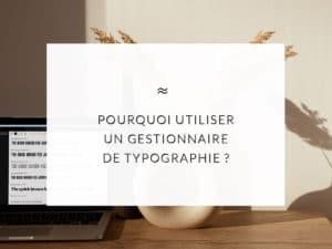 """Ordinateur posé sur une table en arrière plan avec écrit dans un encart blanc le titre de l'article """"optimiser son lien unique instagram pour développer son activité"""""""