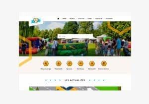 Page d'accueil du nouveau site internet de la ville de Bures-sur-Yvette